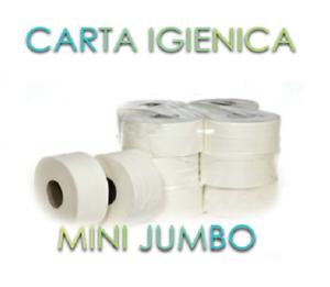 12-Rotoli-Carta-Igienica-Mini-Jumbo-per-Dispenser-Hotel-Pizzeria-Bar-Mani