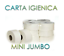 12-Rotoli-Carta-Igienica-Mini-Jumbo-per-Dispenser-Hotel-Pizzeria-Bar-Mani miniature 1