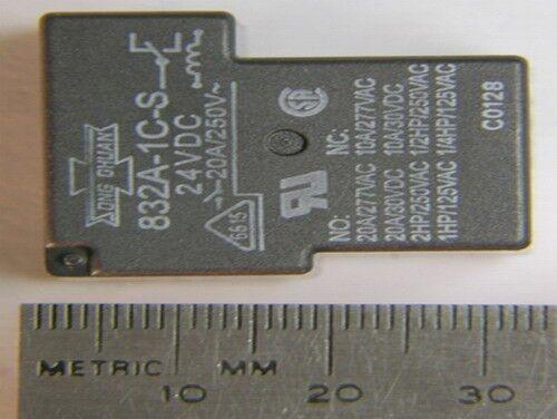 20A 250VAC SPDT Relays 20 Song Ghuan 832A-1C-S 24Vdc