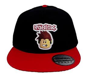 Roblox Snapback baseball cap,gift,boys,girls,gamer,hat,5-13,logo,kids.