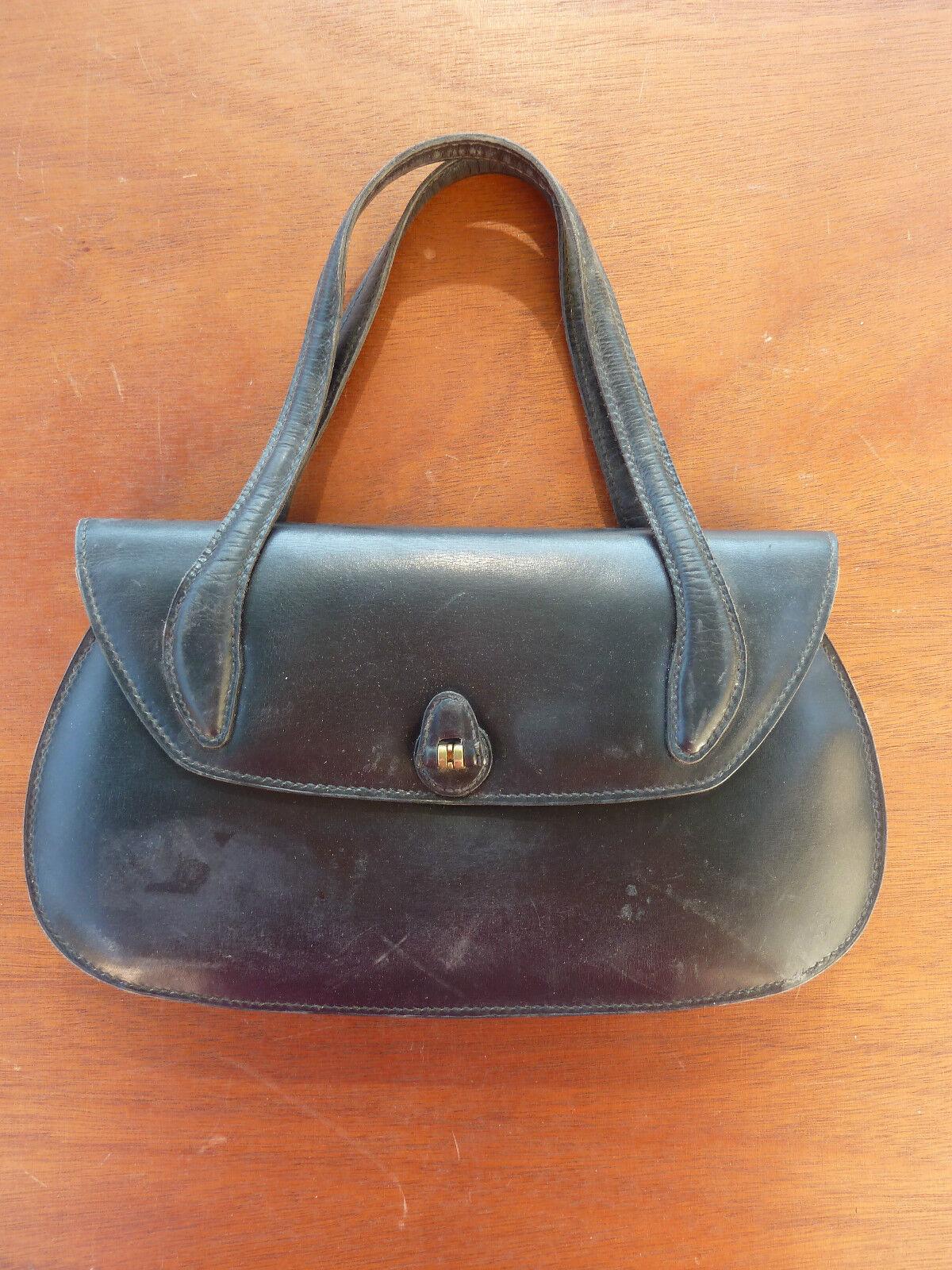 Tasche leder vintage 1950 | Hohe Qualität und Wirtschaftlichkeit  | Vielfalt