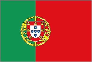 PORTUGAL 5ft x 3ft Flag