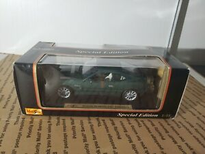 1-18-Maisto-escala-Aston-Martin-DB7-Vantage-Verde-Edicion-Especial