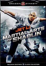 NEW DVD // MARTIAL ARTS OF SHAOLIN // DRAGON DYNASTY // Jet Li, Huang Qui-Yan, Y