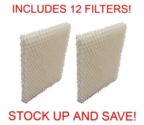 12 Pack Humidifier Filter for Honeywell HCM-750 HCM750 HCM-750B HCM750B