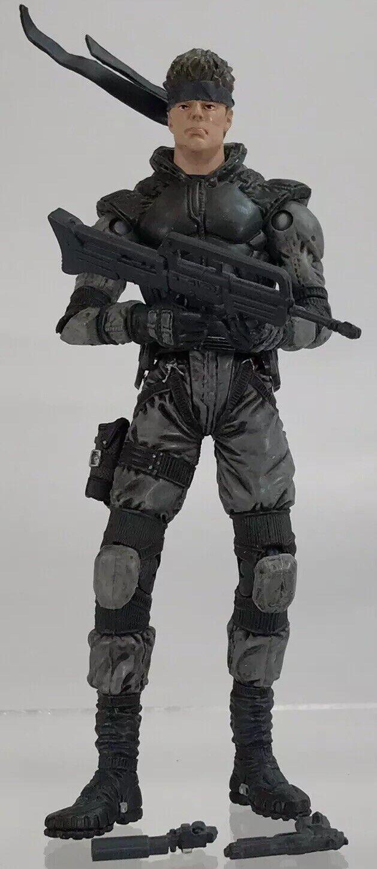 "McFarlane Toys Metal Gear Solid Snake 6"" Figure Variant 1999 MGS Konami Rare"
