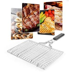Portable-BBQ-Barbecue-Grill-Clip-Folding-Easy-Clean-for-Home-Park-Picnic-Camping