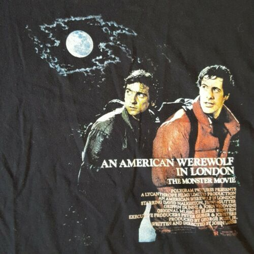 An American Werewolf In London Movie Poster women'
