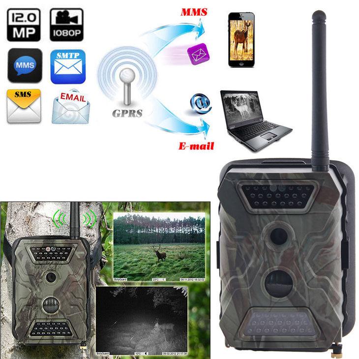 Cámara Trail 1080P MMS GPRS juego Scouting Camara caza acornguard AG-680M 12MP