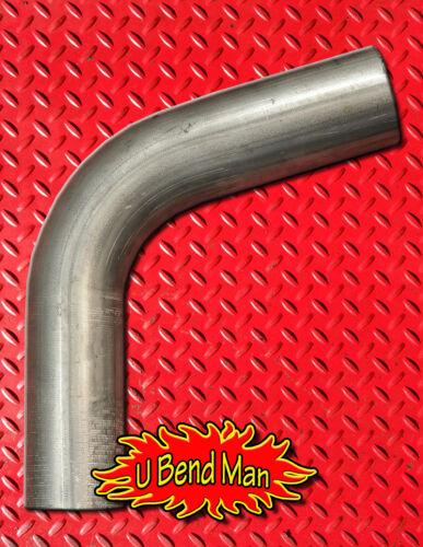 2.25 inch 60 degree mandrel bend exhaust pipe custom DIY turbo downpipe midpipe