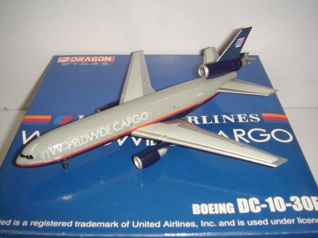 Dragon Wings Jet X United Worldwide Cargo DC-10-30F  Battleship Livery  1 400