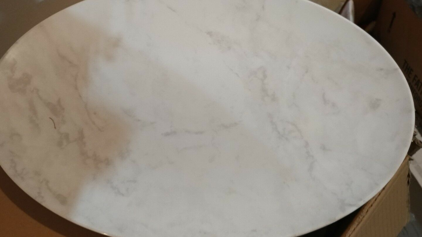 2 Williams Sonoma Marble Melamine platter oval New with tag