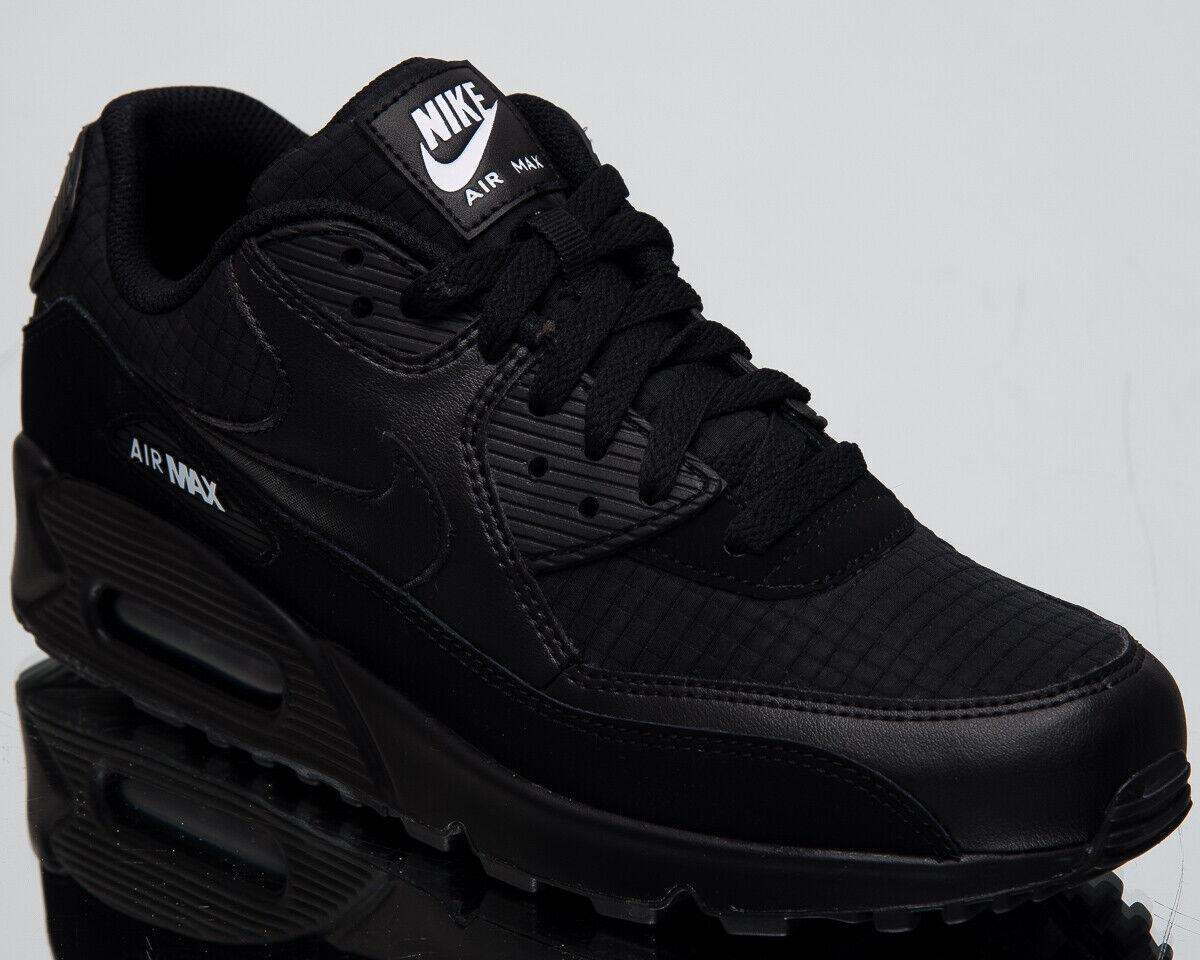 Nike Air Max 90 Essential Men's New Black White Lifestyle Sneakers AJ1285-019