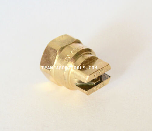 Brass Replacement Nozzle H 1//4 DT- 6506 In-Line Sprayer Carpet Cleaning