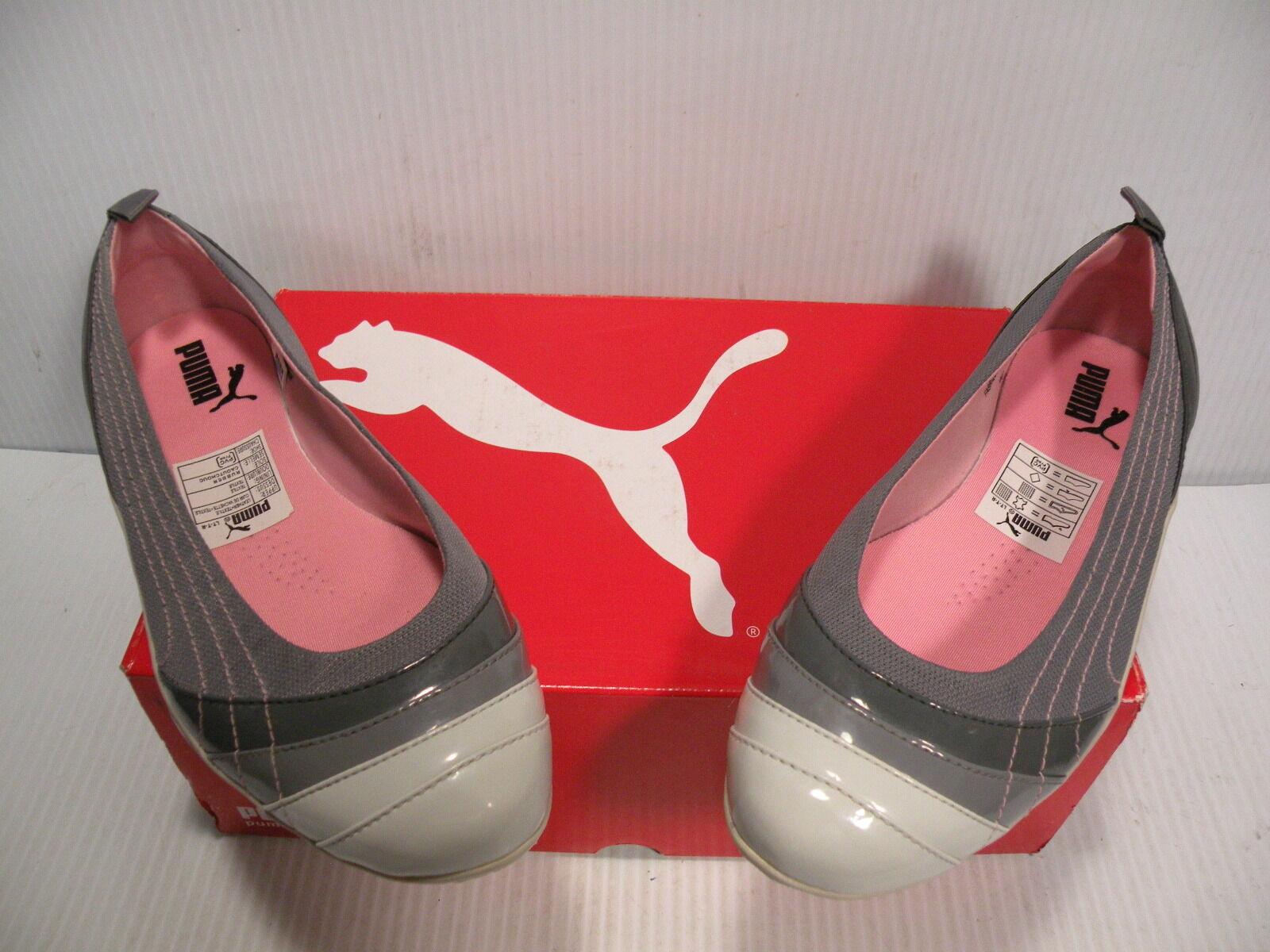 PUMA GINZA DORI LOW scarpe scarpe scarpe da ginnastica donna scarpe grigio bianca 344012-03 Dimensione 7 NEW dcd0ea