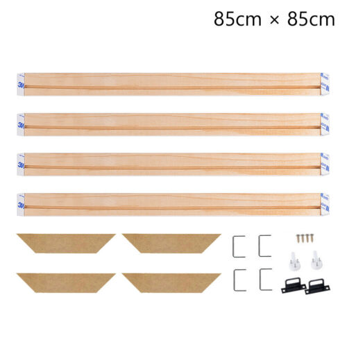 stretcher strip diy wood bar frame for canvas print painting gallery wrapped 2B