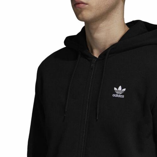 Hoodie Black Fleece Trefoil S dn6015 dn6016 Adidas Men's Zip Grey 2xl Full nxYX55pqdR