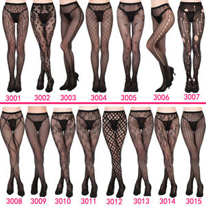 Girl-Fashion-Sexy-Pantyhose-Fishnet-Stockings-Sexy-Tattoo-Lace-Body-Lace-Hollow