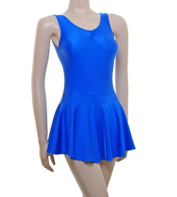 Ballet Colours Lycra Leotard Short Sleeve Gathered Bust #JANE