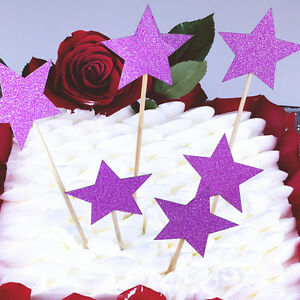Star-Birthday-Cake-Bunting-Banner-Topper-Flags-Children-Party-Baby-Shower-Pick