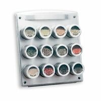 Kamenstein 12 Tin Magnetic Spice Rack , New, Free Shipping on sale