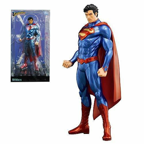 SUPERMAN New 52 Version 1 10 Scale ArtFX Statue By Kotobukiya MIB JLA NEW MOVIE