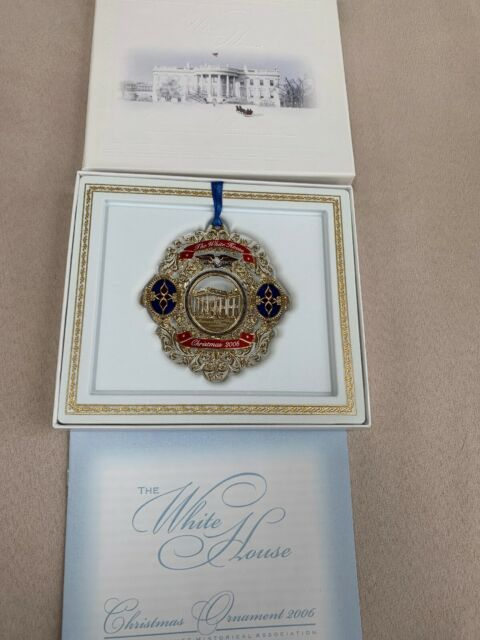 The White House Association 2006 Christmas Ornament NEW | eBay