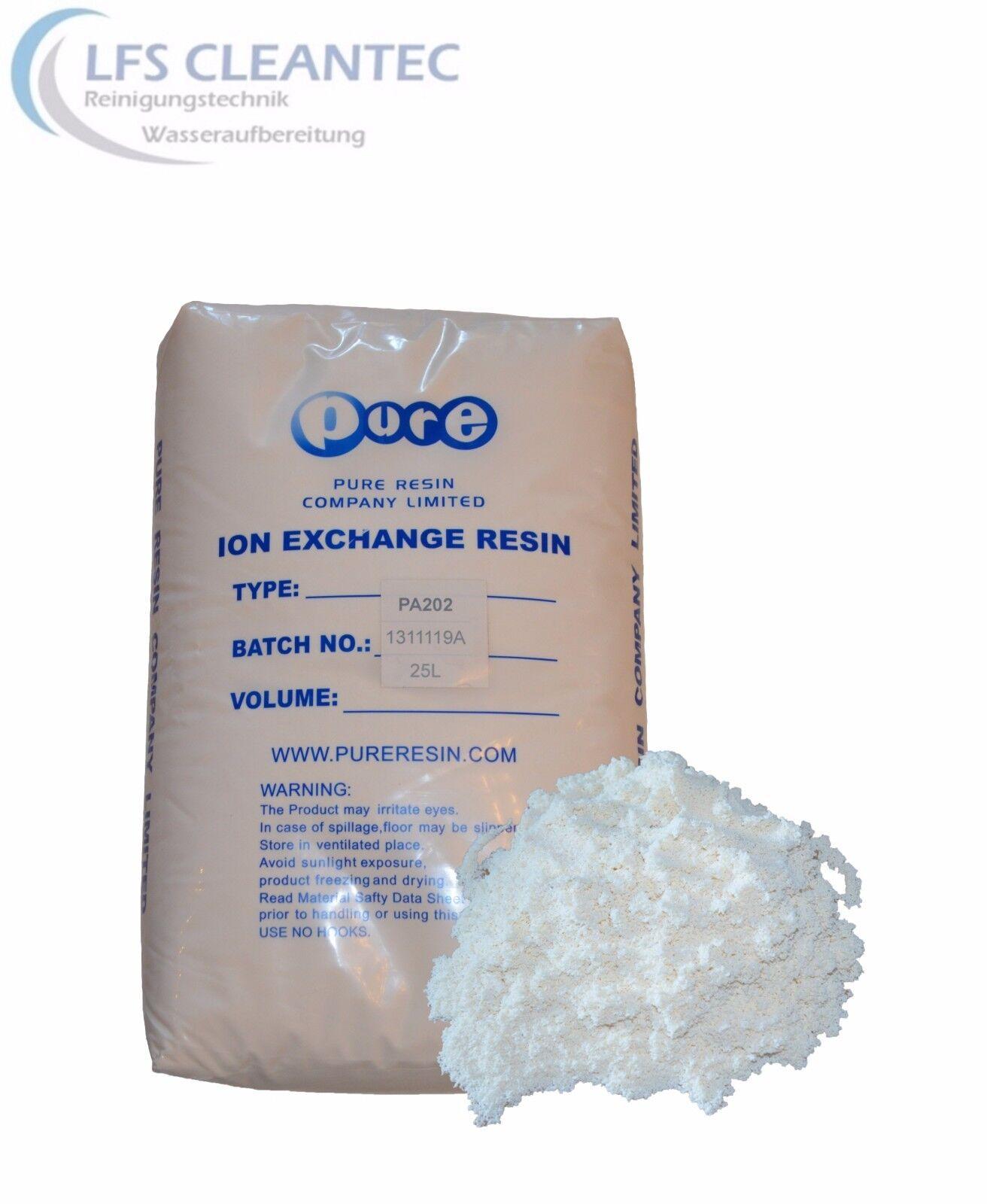Nitratharz selektiv PA 202 Nitratentfernung Phosphatharz Nitratfilter 10 Liter