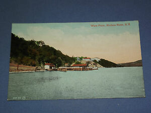 VINTAGE-WEST-POINT-HUDSON-RIVER-NEW-YORK-POSTCARD