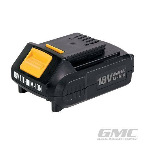 18V LiIon Batteries GMC 2.0Ah REPLACEMENT FOR DRILL MACHINE POWER 505538