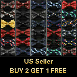 26-Styles-Bow-Tie-Classic-Fashion-Mens-Adjustable-Tuxedo-Bowtie-Wedding-Necktie
