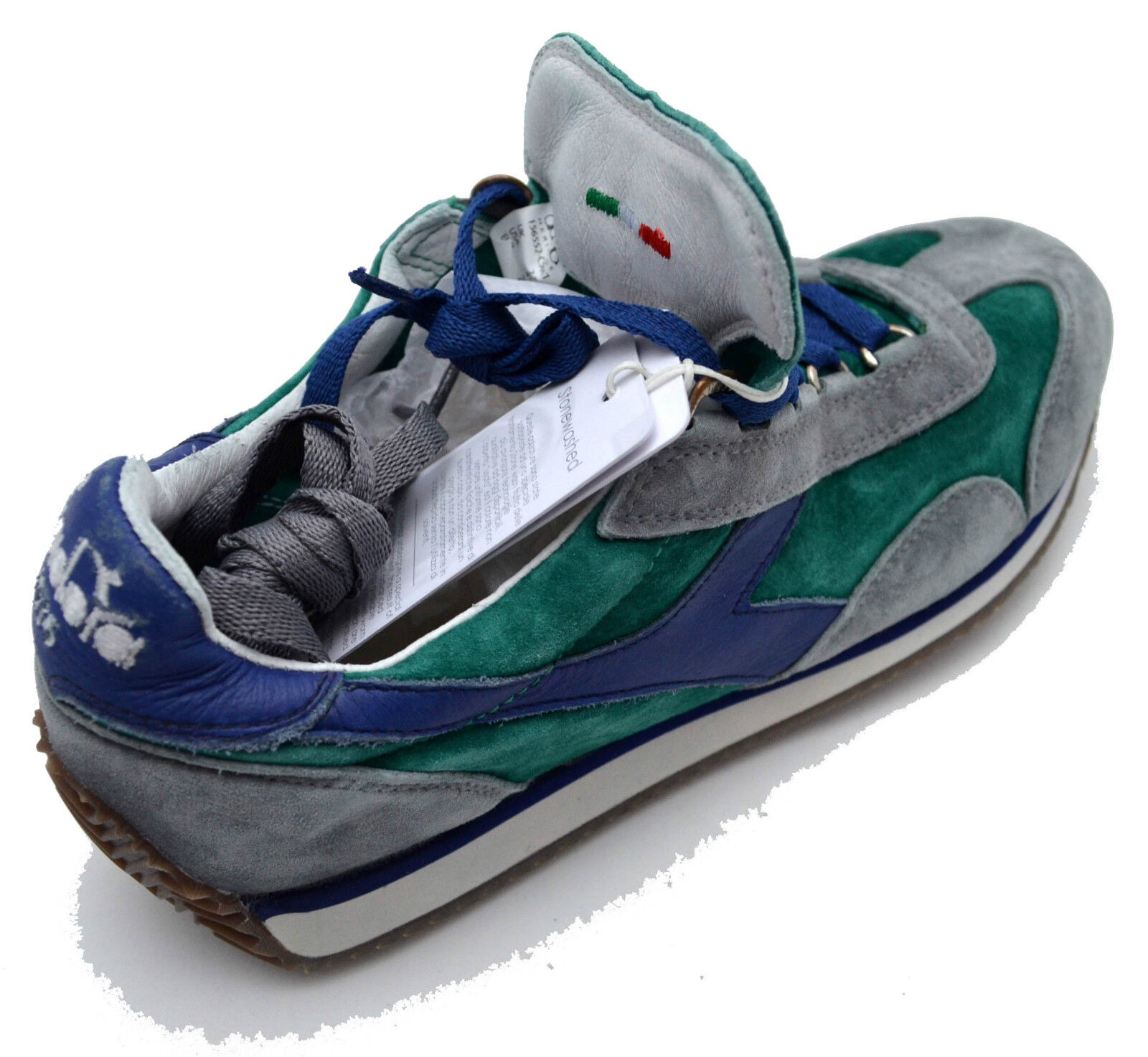 Diadora Heritage scarpe sneakers Pelle Pelle Pelle shoes Donna Women Uomo Equipe Stone wash a63128