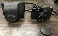 Yashica MG-1 35mm Rangefinder Camera with Yashinon 45mm Lens, Made in Japan