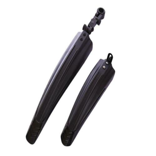 Black Bike Rear /& Front Fender Mounting Accessories Tire Mud Rain Guards Durable