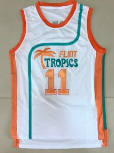 2c75c730b4d 11 ED Monix Jersey Flint Tropics Semi Pro Movie Embroidered Mens ...
