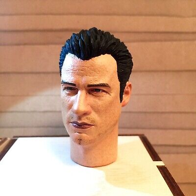 "1:6 Scale A head Sculpt of John Travolta For 12/"" Male Toys Action Figure NEW"