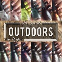 China Glaze The Great Outdoors Fall 2015 Collection 12pcs