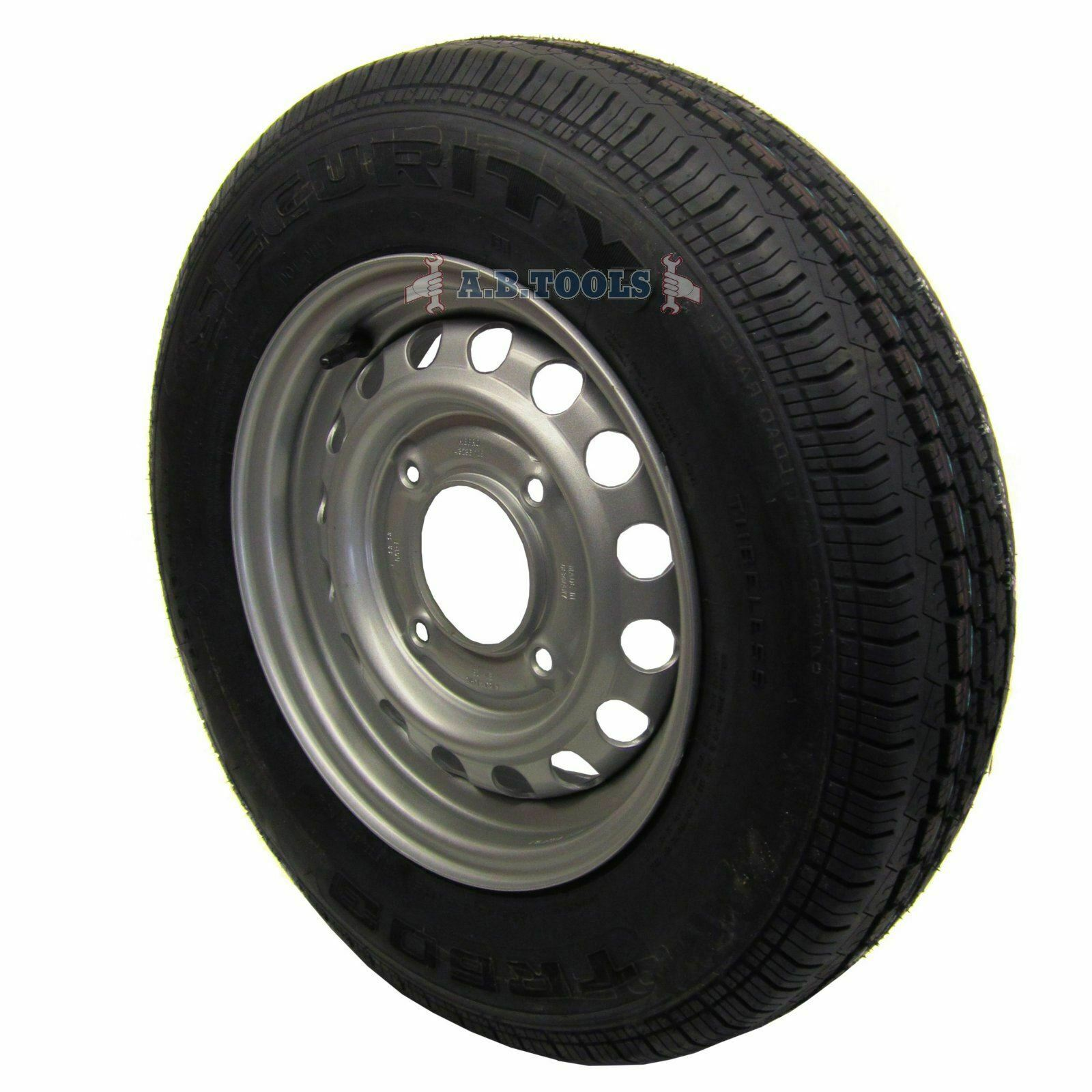 13  Wheel & Tyre for Ifor Williams 2700kg Twin Axle Horse Box Trailers 165 R13