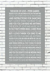 The book of love song peter gabriel