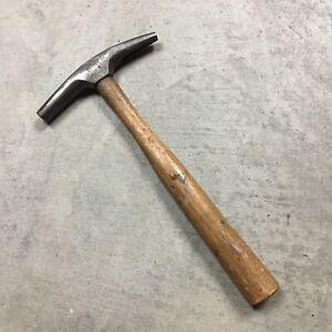 STANLEY-VTG-PICK-AXE-Cobbler-HAMMER-Blacksmith-Mining-Tool-Hammer-Chisel