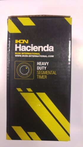 Hacienda Heavy Duty 24 Hour Plug In Timer Hydroponics Grow Light