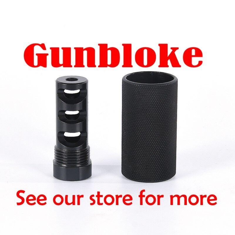 TIKKA SAKO TRIPLE-TAC PLUS muzzle brake 15x1mm, 22.4  barrels & A7 Roughtech Pro