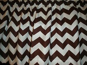 Http Www Ebay Com Itm Brown White Chevron Zig Zag Bedroom Kitchen Window Valance Decor 262356522714