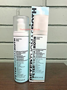 Peter Thomas Roth Brightening Bubbling Mask Clarifies & Detoxifies Skin - 3.4 oz 5% Niacinamide (Vitamin B3) + Retinol Serum Cream (2 oz) - Ultimate Anti-Aging Wrinkle Reducing Treatment - Fights Acne Breakouts and Fades Blemishes & Spots - Minimizes Pore Size and Tightens Skin