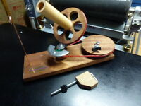 Fricke Jumbo Ball Winder Phase Two Sapele Wood Made In The Usa
