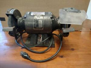 5 In Bench Grinder Remington Industrial Tool Co Single Phase 1 4 Hp