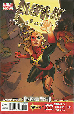 Captain Marvel #15 Kelly Sue Deconnick All New Comic 1st Print 2015 unread NM