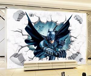 Wandbild wandtattoo decke bild batman wand durchbruch for Batman wandtattoo