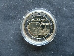 2 Euro Commémorative BE Luxembourg 2012