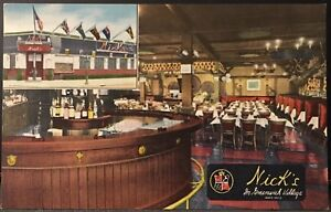 New-York-City-NY-Nick-s-In-Greenwich-Village-Restaurant-Bar-Multi-View-Linen